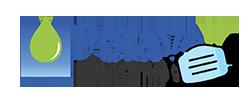 Logo Potavell com Máscara COVID19